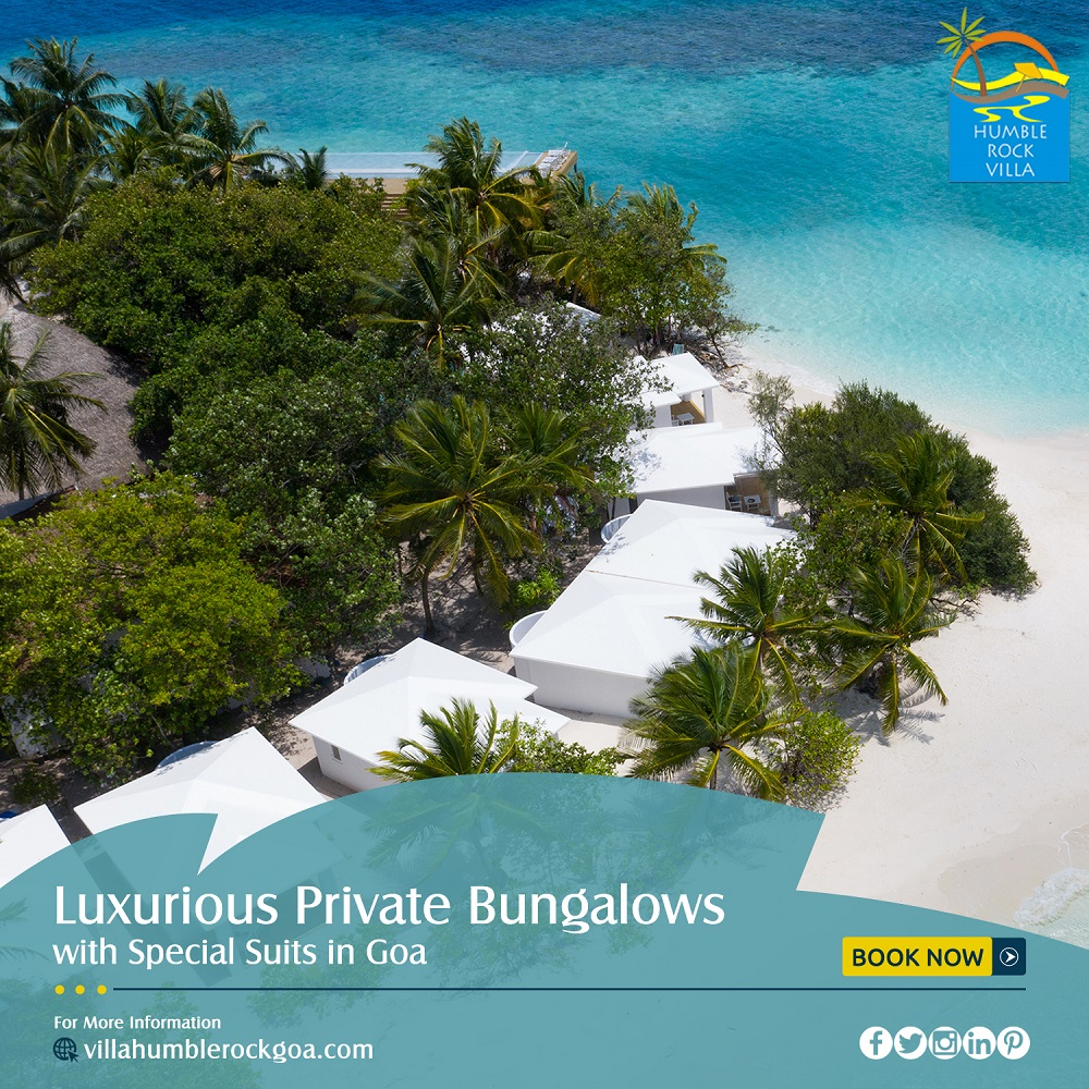 Luxurious Private Bungalows With Social Suits In Goa