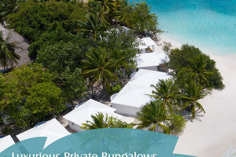 luxurious private bungalows