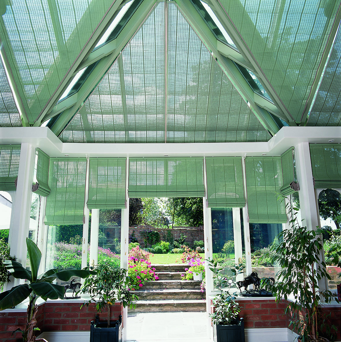 French Pinoleum Conservatory Blinds Appeal Home Shading