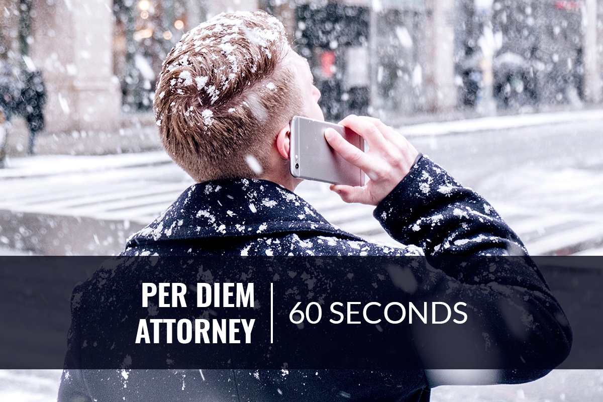 Find a Per Diem Attorney in New York Within 60 Seconds