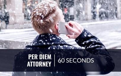 Find a Per Diem Attorney in New York Within 60 Seconds