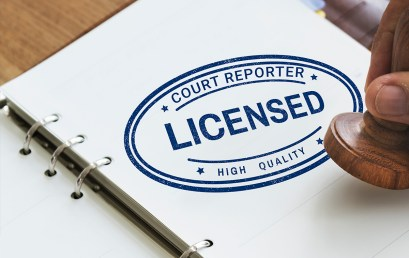 3 Tips for Newly Licensed Court Reporters