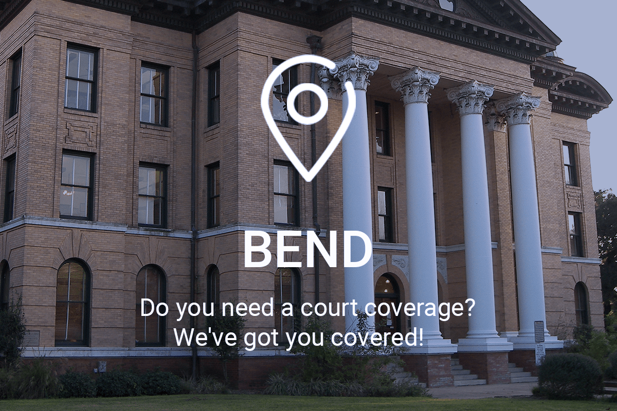 Need Court Coverage in Bend? We've Got You Covered!