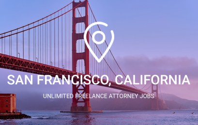 Unlimited Freelance Attorney Jobs in San Francisco
