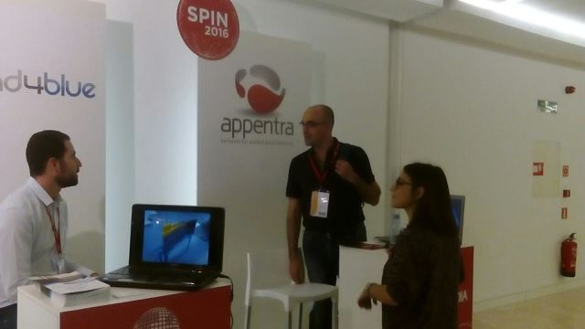 Stand Appentra Spin2016