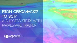 From CesgaHack17 to SC17: A Success Story With Parallelware Trainer