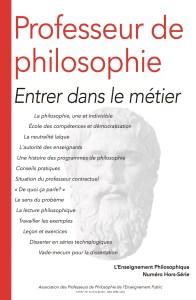 Professeur de philosophie - Entrer dans le métier