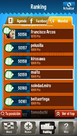 Ranking Enumerados