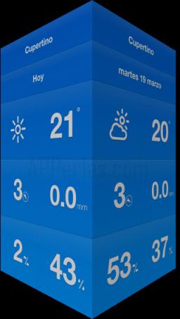 Weathercube app