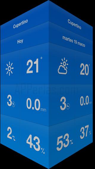 Weathercube se actualiza