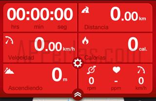 Runtastic entrenamiento de ciclismo
