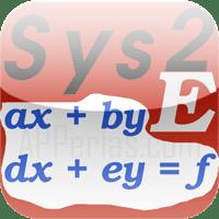 Sistemas de 2 ecuaciones lineales