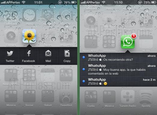 notificaciones del iphone