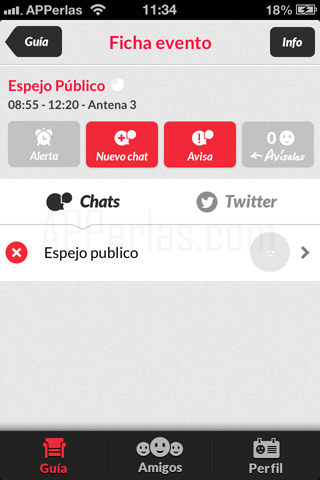 app para tv y social tv