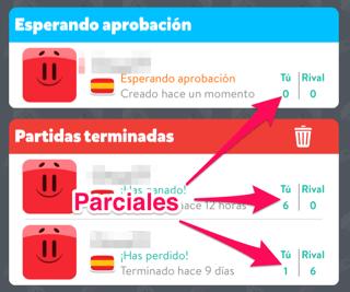 Logros en Preguntados para iOS