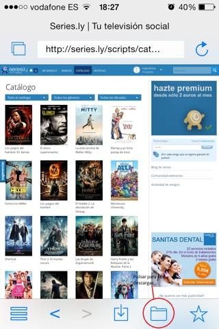 Cómo descargar películas gratis en iphone, ipad y iPod Touch