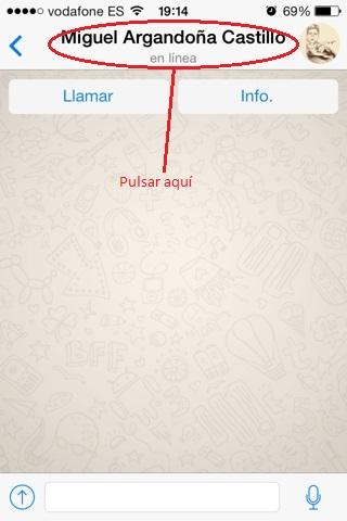 archivos recibidos en whatsapp iPhone