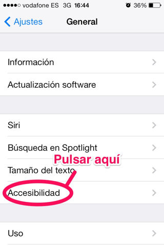 activar flash del iPhone