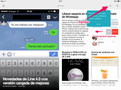 añadir feeds en feedly
