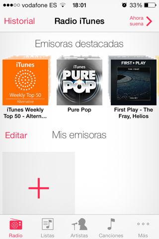 usar iTunes Radio en España o en cualquier país