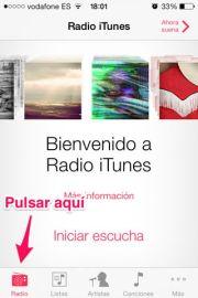 Usar iTunes Radio en España o en cualquier país - APPerlas