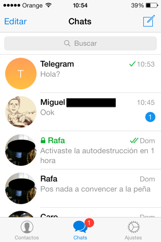 Alternativa de Whatsapp
