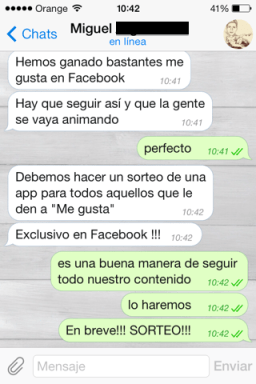 Alternativa de Whatsapp para iOS