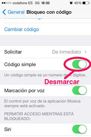 hacer más seguro el iPhone y iPod