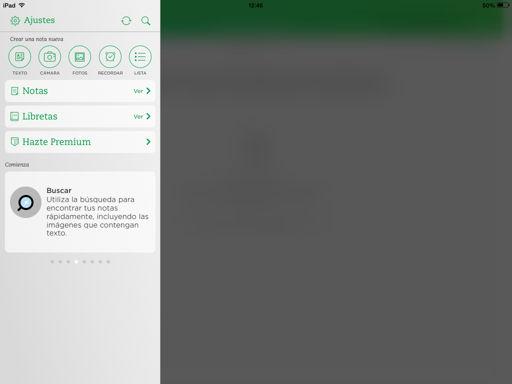 tomar notas en iPhone y iPad