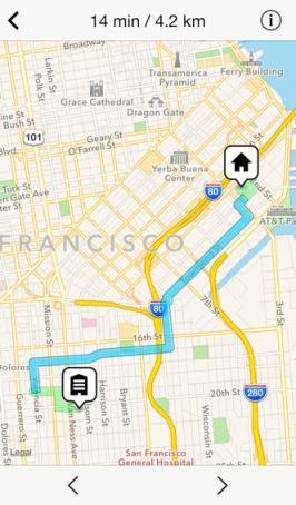 app que controla lo que andamos para iPhone