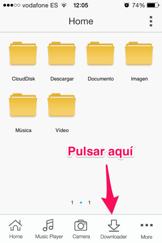 descargar vídeos de youtube iPhone