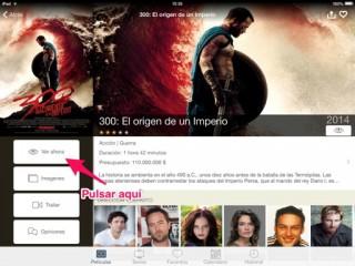 ver películas online en iPhone