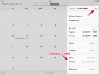 alerta en un evento de calendario 3
