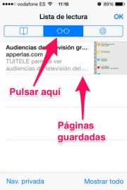 Listas de lectura en iPhone, iPad y iPod Touch - APPerlas