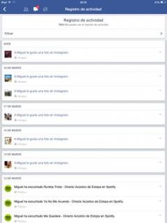 privacidad en facebook registro