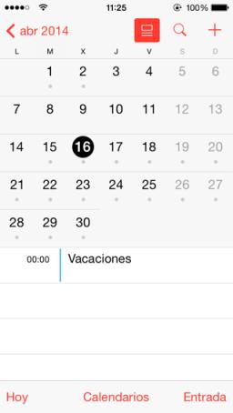 planificar vacaciones app para iOS