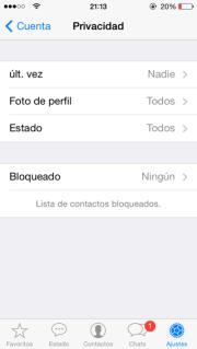 La privacidad de Whatsapp mejora con la versión 2.11.8