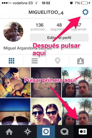 fotos que te han gustado en instagram