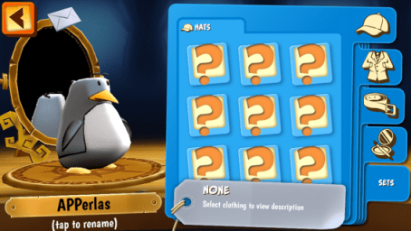 configura a los pingüinos a tu antojo
