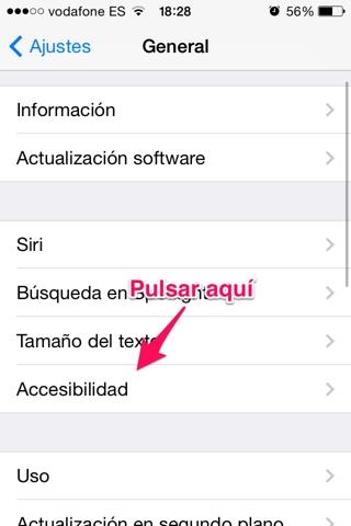 controlar el iPhone moviendo la cabeza 1