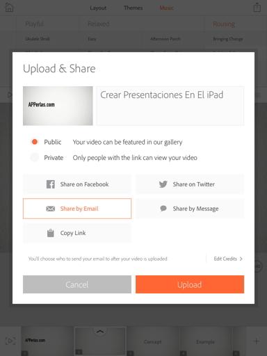 presentaciones en el iPad 12