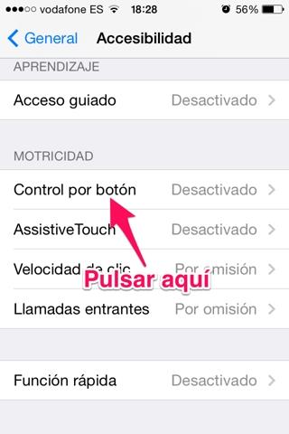 controlar el iPhone moviendo la cabeza 2