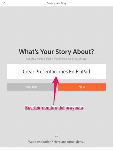 presentaciones en el iPad 2