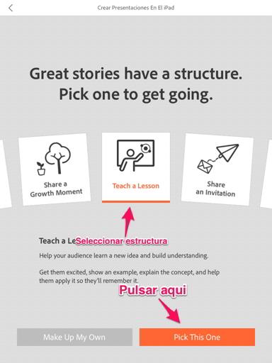 presentaciones en el iPad 3