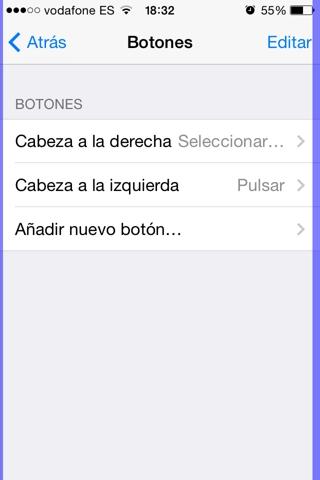 controlar el iPhone moviendo la cabeza 4