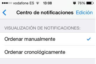 centro de notificaciones 5