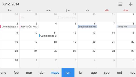 app alternativa al calendario