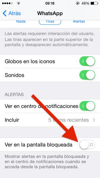 Configura tu centro de notificaciones