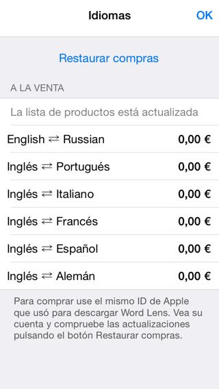 Traducir textos con iPhone y iPad