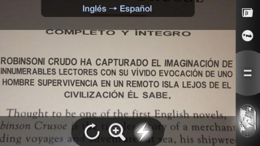 Word Lens Traducir textos ONLINE